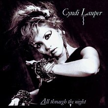 All Through the Night (Cyndi Lauper song) - Wikipedia