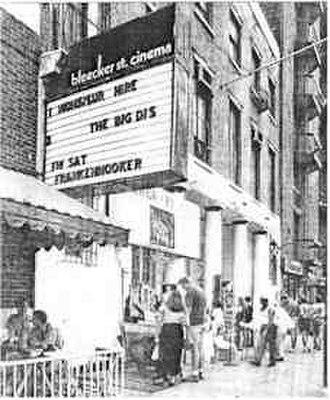 Bleecker Street Cinema - Bleecker Street Cinema, 1980s