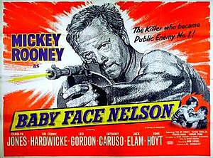 Baby Face Nelson (film) - Theater release lobby card