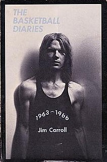 <i>The Basketball Diaries</i> book by Jim Carroll