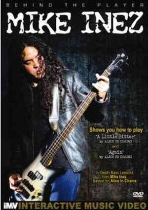 Behind the Player: Mike Inez - Image: Behind the Player Mike Inez