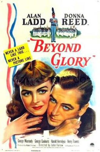 Beyond Glory - Image: Beyond Glory 1948 Poster