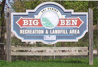 Cornwall, Ontario -  Big Ben Dump Cornwall, Ontario