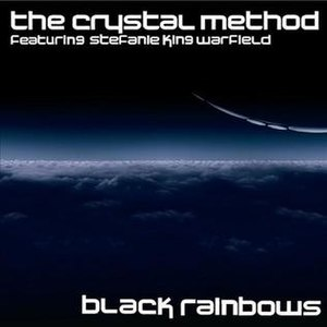 "Divided by Night - The cover of the ""Black Rainbows"" single released on Beatport on April 28, 2009."