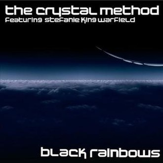 """Divided by Night - The cover of the """"Black Rainbows"""" single released on Beatport on April 28, 2009."""