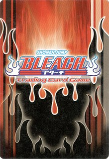 <i>Bleach Trading Card Game</i> Out of print card game based on Bleach