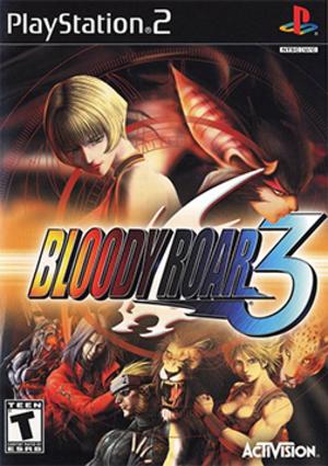 Bloody Roar 3 - North American PlayStation 2 cover art