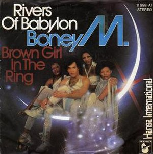 Rivers of Babylon - Image: Boney M. Rivers of Babylon (1978 single)