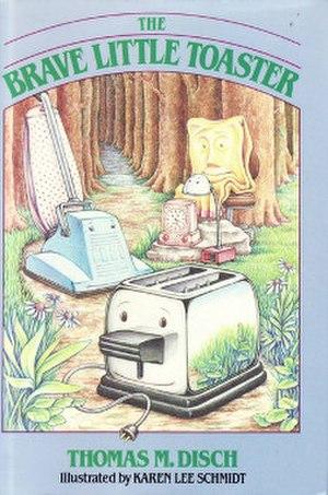 The Brave Little Toaster (novel) - The original cover of Thomas M. Disch's The Brave Little Toaster: A Bedtime Story for Small Appliances