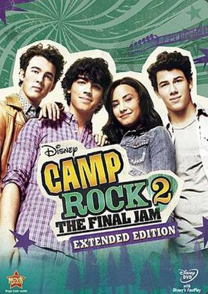 Camp Rock 2: The Final Jam - US Extended Edition DVD cover