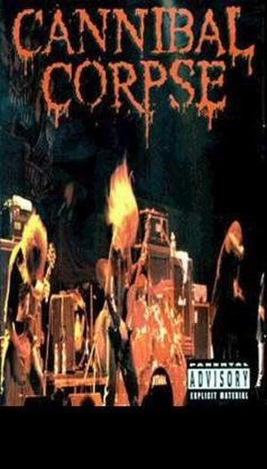 Monolith of Death Tour '96–'97 - Image: Cannibal Corpse Vhs cover