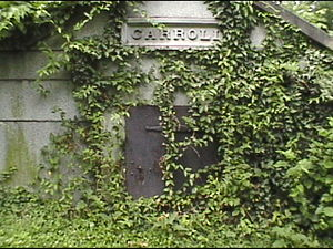 Old Saint Paul's Cemetery - Image: Carroll Vault