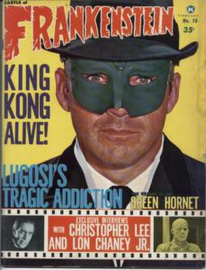 Castle of Frankenstein - Image: Castle of Frankenstein (issue 10 front cover)