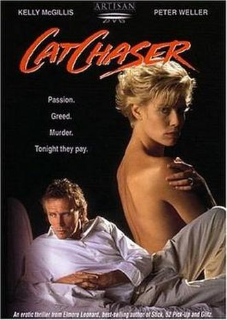 Cat Chaser - DVD cover