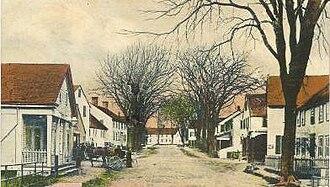 Chepachet, Rhode Island - Chepachet depicted in a 1905 postcard