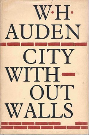 City Without Walls - First edition (publ. Faber & Faber)