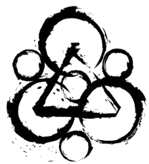"Coheed and Cambria - ""The Keywork"", a commonly used logo for the band, symbolizes the energy stream between the planets in Coheed and Cambria's fictional universe."