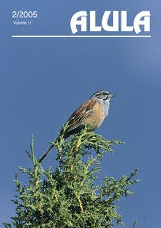 Alula (magazine) - Image: Cover Alula
