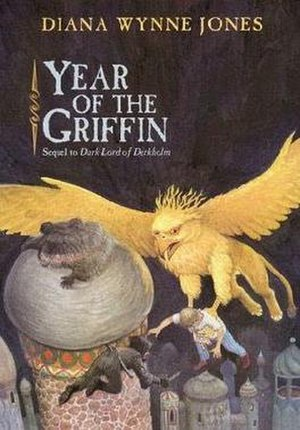 Year of the Griffin - Front cover of the US first edition