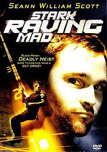 DVD cover of the movie Stark Raving Mad.jpg