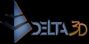 Delta3D - Image: Delta 3d logo