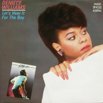 Let's Hear It for the Boy - Image: Deniece Williams the Boy