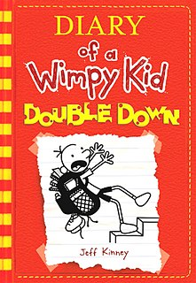 <i>Diary of a Wimpy Kid: Double Down</i> 2016 book by Jeff Kinney