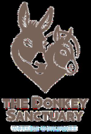 The Donkey Sanctuary - Image: Donkey Sanctuary logo