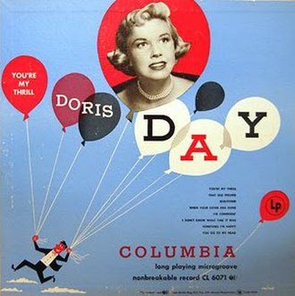You're My Thrill (Doris Day album) - Image: Doris Day 1st LP