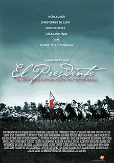 <i>El Presidente</i> (film) 2012 Filipino film