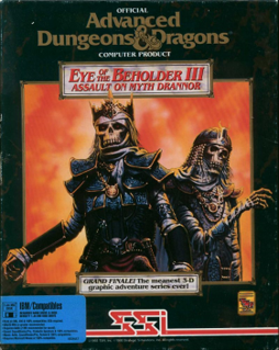 <i>Eye of the Beholder III: Assault on Myth Drannor</i> 1993 video game