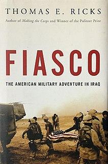 <i>Fiasco</i> (book) book by Thomas E. Ricks
