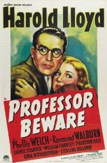 <i>Professor Beware</i> 1938 film by Elliott Nugent