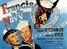 Francis in the Navy movie