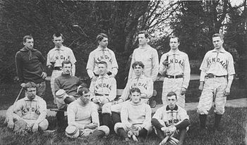 Gallaudet University baseball team (then: Nati...