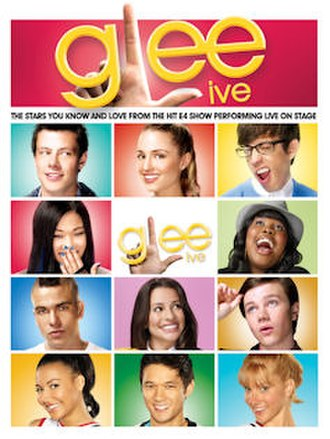 Glee Live! In Concert! - Image: Glee tourposter