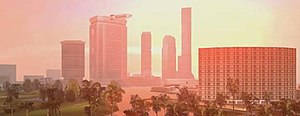 Grand Theft Auto: Vice City - Image: Grand Theft Auto Vice City open world