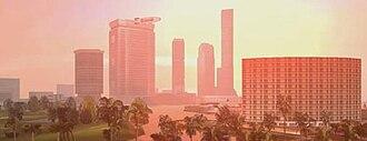Grand Theft Auto: Vice City - Image: Grand Theft Auto Vice City open world