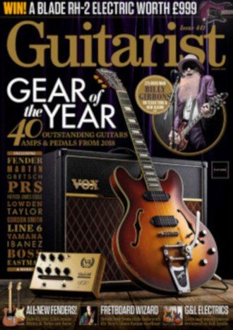Guitarist (magazine) - Image: Guitarist January 2019 cover