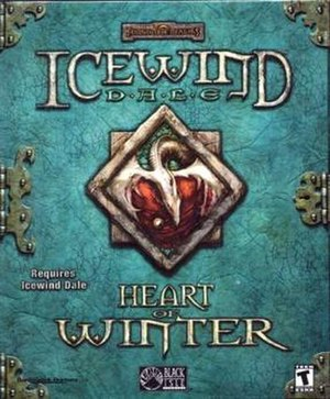 Icewind Dale: Heart of Winter - Image: Icewind dale heart of winter box shot