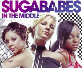 In the Middle (Sugababes song) - Image: In The Middle CD2Cover