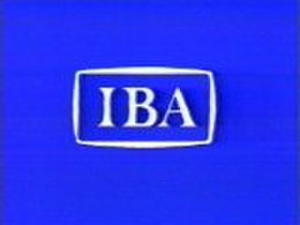 Independent Broadcasting Authority - Screencap of Independent Broadcasting Authority logo 1982, this variant shown 1984