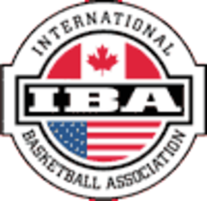 International Basketball Association - Image: International Basketball Association logo