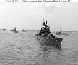 Naval Review - International Naval Review – 1957