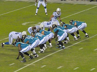 David Garrard - Garrard under center against the Indianapolis Colts in 2009.