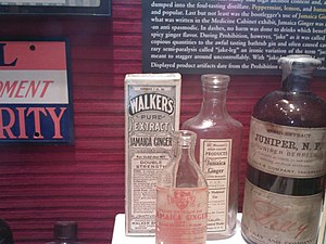 Jamaican ginger extract at the Museum of the A...