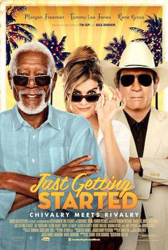 Just Getting Started (film) - Theatrical release poster