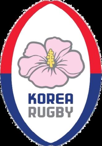 South Korea national rugby union team - Image: Korea logo
