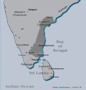 Later Cholas - Chola kingdom under Kulothunga Chola III