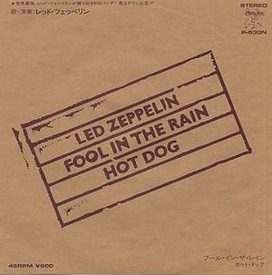 Fool in the Rain - Image: Led Zeppelin Fool In The Rain 115197